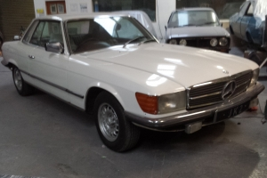 mercedes 280 slc low mileage