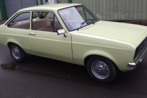 ESCORT MK2 1.3 VERY GOOD SHELL
