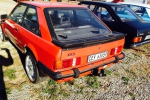 ESCORT XR3 EARLY CARB MODEL 4 SPEED